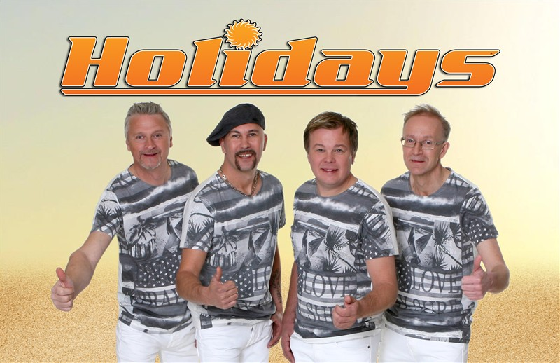 Holidays Orkester spiller på Ørland Country & Dansefestival 30 juni - 3 juli 2016
