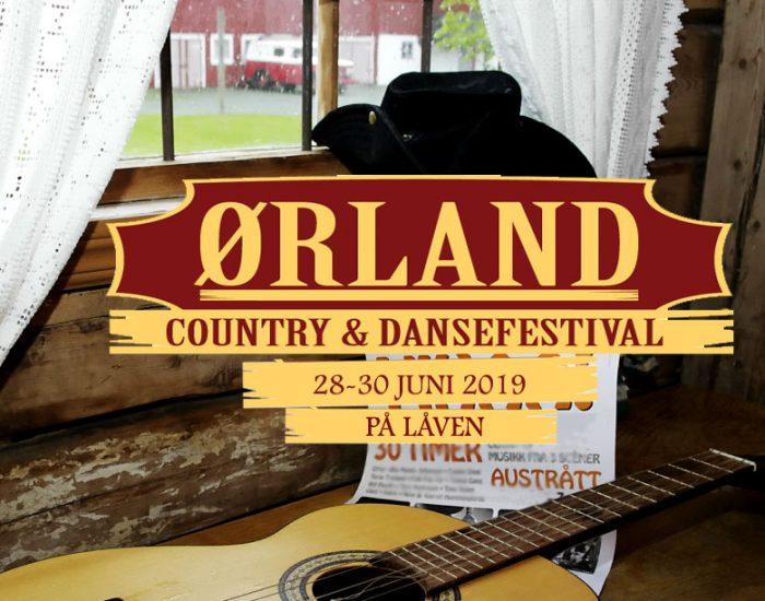 Ørland Country & Dansefestival 28-30 juni 2019