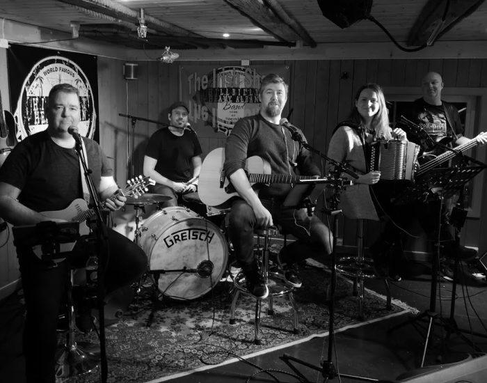 Hillbilly Heavy Alban Band spiller på Ørland Country & Dansefestival 2019