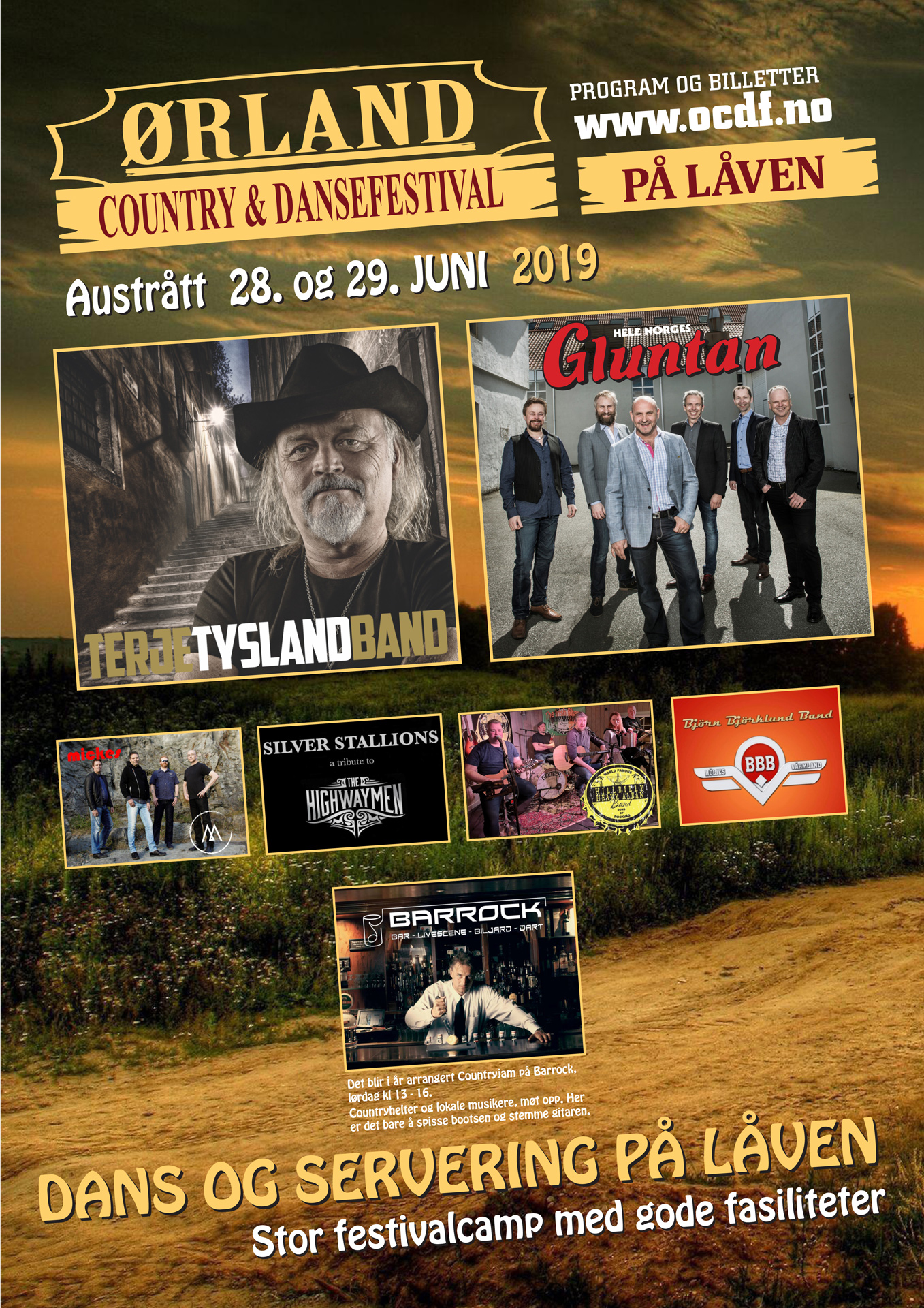 Ørland Country & Dansefestival 2019